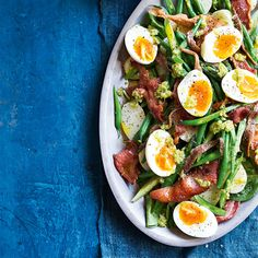 Bean & Asparagus Salad