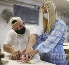 Into it: Ivanka Trump learned how to roll out dough for Cuban bread while visiting La Segu...