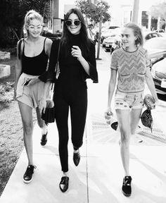Cara, Kendall and Gigi