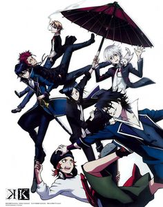 K Project. What is this? It looks cool... I want to watch this, I think.                                                                                                                                                      More