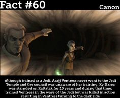 Star Wars Facts Star Wars Rebels, Star Wars Clone Wars, Star Trek, Star Wars Facts, Star Wars Humor, Star Wars Images, Jedi Knight, The Force Is Strong, Love Stars