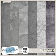 Commercial Use :: Paper Making Tools :: Slightly Grungy Textures by Nibbles Skribbles
