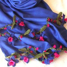 パシュミナ 花のストール by OYA shop DAISY