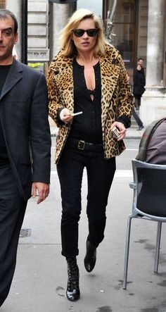Kate Moss Street Fashion & More Luxury Details