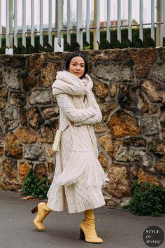 Paris FW 2020 Street Style: Yoyo Cao - STYLE DU MONDE | Street Style Street Fashion Photos Yoyo Cao