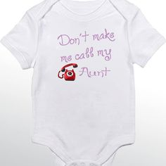 I get my ninja powers from my cousin funny saying printed on dont make me call my aunt personalized baby bodysuit negle Choice Image