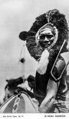"Africa | ""East African Types; Nandi Warrior."". 