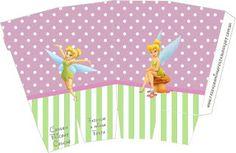 Tinker Bell – Kit Completo com molduras para convites, rótulos para guloseimas, lembrancinhas e imagens! |Fazendo a Nossa Festa