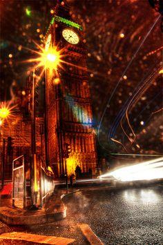 Illuminated London – The Rain City
