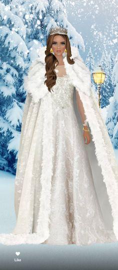 Fantasy Art Angels, Fantasy Girl, Covet Fashion, Fashion Art, Doll Painting, Black Barbie, Fashion Games, Divas, Winter Fashion