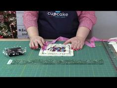 CUPCAKE QUILTS - How to Make Holiday Potholders - YouTube