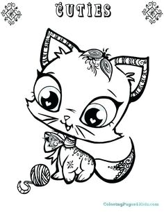 41 Best My Little Pet Shop Coloring Pages Images In 2019