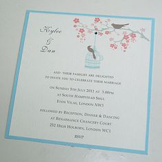 Beautiful Invites