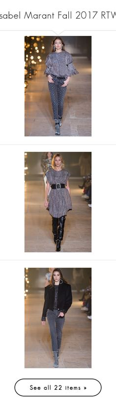 """Isabel Marant Fall 2017 RTW"" by yourstylemood ❤ liked on Polyvore featuring PFW, paris, fashionWeek and polyvorepfw"