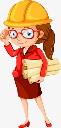 Engineering designer cartoon characters PNG and Vector Civil Engineering Logo, Engineering Girls, Film Background, Cartoon Background, Engineer Cartoon, Art With Meaning, Cartoon Design, Free Vector Graphics, Silhouette Design