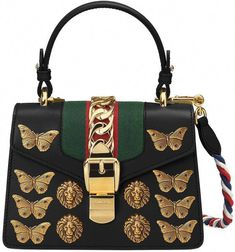 8f59a3118fa Gucci Sylvie animal studs leather mini bag  Guccihandbags Leer Met Studs