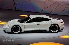 Porsche Mission E Concept Revealed in Frankfurt with 600 Electric Horses - Video, Live Photos - autoevolution