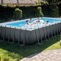 Piscina Intex Rectangular Ultra XTR Frame 975x488x132