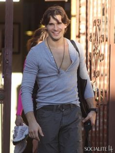 Gleb Savchenko Looking Good After Dancing With The Stars Rehearsal