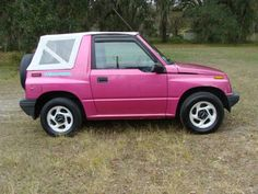 pink chevrolet tracker httpwwwiseecarscomused car