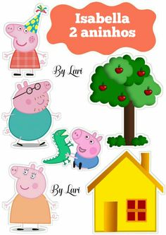 peppa pig Topper bolo Topper bolo - Topper bolo Topper bolo Chuck a new birthday celebration thats very simple, stylish, plus excellent! Tiny piggies will love trying Bolo Da Peppa Pig, Cumple Peppa Pig, Peppa Pig Birthday Cake, 2nd Birthday, Special Birthday, Birthday Celebration, Peppa Pig Wallpaper, Peppa Pig House, Pig Party