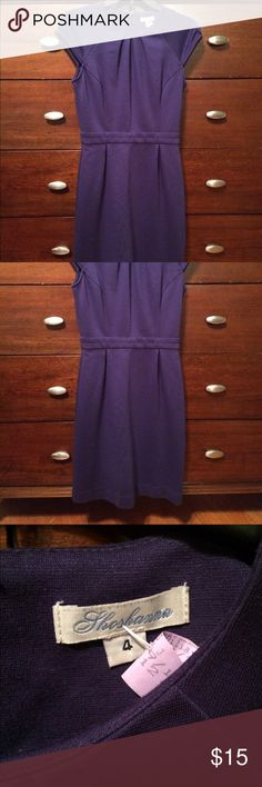 Re-poshing purple Shoshanna dress Love this purchase, but just a little too snug around was its :(. Size 4. Shoshanna Dresses