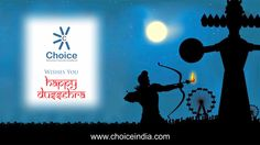 #‎ChoiceGroup‬ wishes Happy ‪#‎Dussehra‬