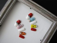 Pokemon Fake Nails by DreamofColour on Etsy