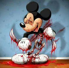 Scary micky mouse
