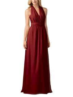 Stylist NotesI love convertible dresses but this is my favorite! Mix it up for a coordinated but individualized look. -SonaliDescriptionWtoo by Watters Style 800Fulllength bridesmaid dressSweetheart necklineNaturalwaistConvertibleCrystal ChiffonInterested in more convertible styles? Click here to see the full collection.