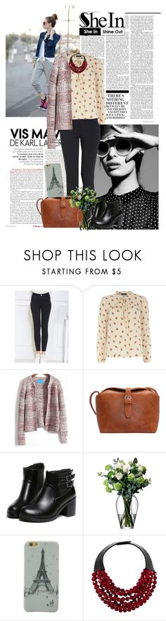 """Sheinside.com 1"" by laurafox27 ❤ liked on Polyvore featuring Nicki Minaj, Dorothy Perkins, LSA International, Fairchild Baldwin and vintage"