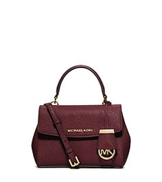 Ava Extra-Small Saffiano Leather Crossbody by Michael Kors