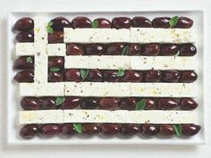 Macedonian Food - feta & olives - traditional food of the Greeks - cuisine from the Historical Greek region of Macedonia of ancient and modern Greece Food Festival, Food Design, Greek Olives, Bacon Kale, Greece Flag, Macedonian Food, Native Foods, Greek Easter, Gastronomia