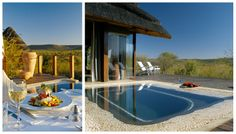 Families & couples alike will love this deluxe safari lodge, set in South Africa's malaria-free Madikwe Game Reserve & close to Sun City. Sun City, Game Reserve, Africa Travel, Eating Well, South Africa, Safari, Maine, Camping, Outdoor Decor