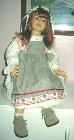 Vintage 1980s Zapf Doll 20 Inches with Original Clothes ...