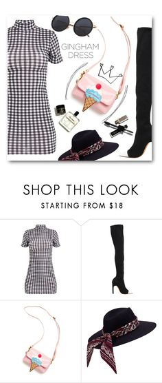 """""""Gingham dress"""" by insaneryk on Polyvore featuring moda, Givenchy, OOAHOOAH, dress, contestentry, polyvorecontest e polyoreentry"""