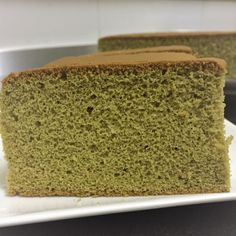 Green tea Castella