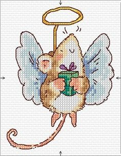 Margaret Sherry charts, Tea's note: Margaret S. never fails to entertain! Xmas Cross Stitch, Cross Stitch Cards, Cross Stitch Animals, Cross Stitch Kits, Cross Stitch Designs, Cross Stitching, Cross Stitch Embroidery, Embroidery Patterns, Cross Stitch Patterns