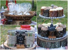 bonfire party ideas | Braeden and I had so much fun putting together our ideas, from the ...