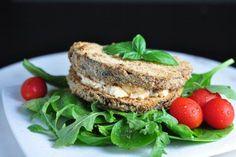 Fitness raňajky s vysokým obsahom bielkovín Clean Eating, Healthy Eating, Salmon Burgers, Bagel, Tofu, Smoothies, Low Carb, Tasty, Bread