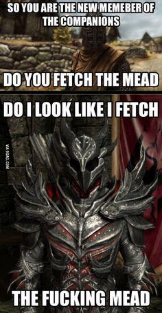 Every freakin time I play Skyrim...