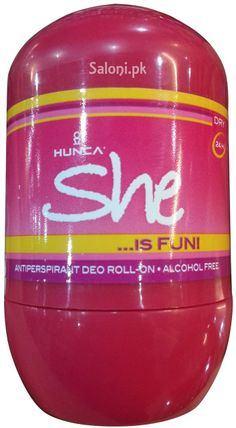 HUNCA SHE IS FUN ROLL-ON DEODORANT 40 ML Saloni™ Health