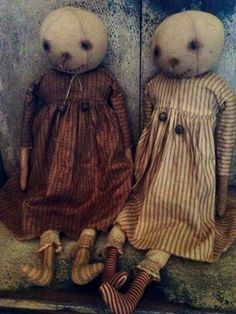 Snow ladies by Village Primitives