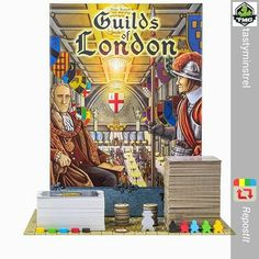 HUGE contest coming in June from @tastyminstrel! 100 copies! WOW!!! I will be staying tuned!      Repost from @tastyminstrel Stay tuned for an awesome contest coming in June on Instagram!! 100 copies of Guilds of London will be available @ Origins. #playtmg #bgg #guildsoflondon #ContestAlert by thechriscormier