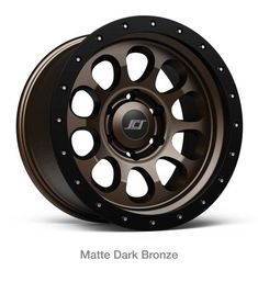 Dirty Life DT-1 Matte Black Wheel with Painted Finish 17 x 9. inches //6 x 120 mm, -12 mm Offset