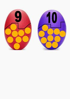 oeufs 9 à 10 Counting Activities, Easter Activities, Spring Activities, Fun Activities For Kids, Worksheets For Kids, Numbers Preschool, Preschool Activities, Montessori Math, Preschool Education