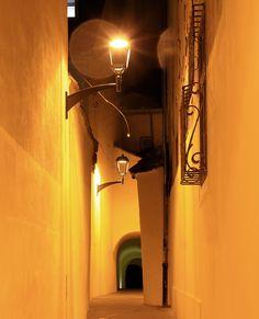 Night walk in Sibiu, Romania - null Sibiu Romania, Romania Travel, Bucharest, Best Cities, Eastern Europe, Beautiful Places, Wall Lights, Walking, Adventure