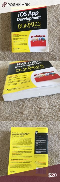 IOS APP DEVEOPMENT for dummies book Good condition some scratches are pictured above. Other