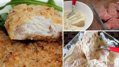 Bez smažení připravené zapékané kuřecí řízky. Připravit je můžete dvěma způsoby, je jen na vás, který si vyberete.