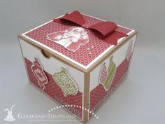 Stampin Up Weihnachten Ornament Keepsakes Santa Geschenkbox Alphabet 04